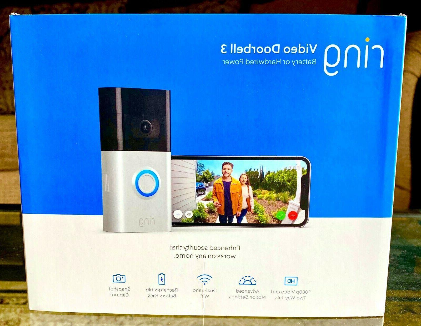 video doorbell 3 1080p 2 way talk