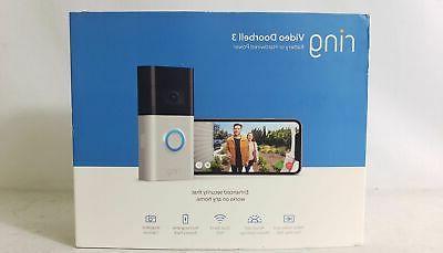 Ring Video Doorbell 1080p HD 2-way Talk Alexa Security NEW In