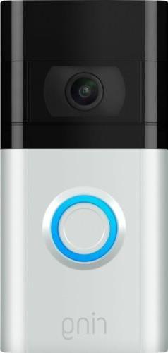 Ring - Video Doorbell 3 - Satin Nickel/Venetian Bronze | Bra