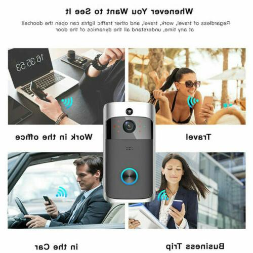 Video Wi-Fi Smart Phone Camera Night