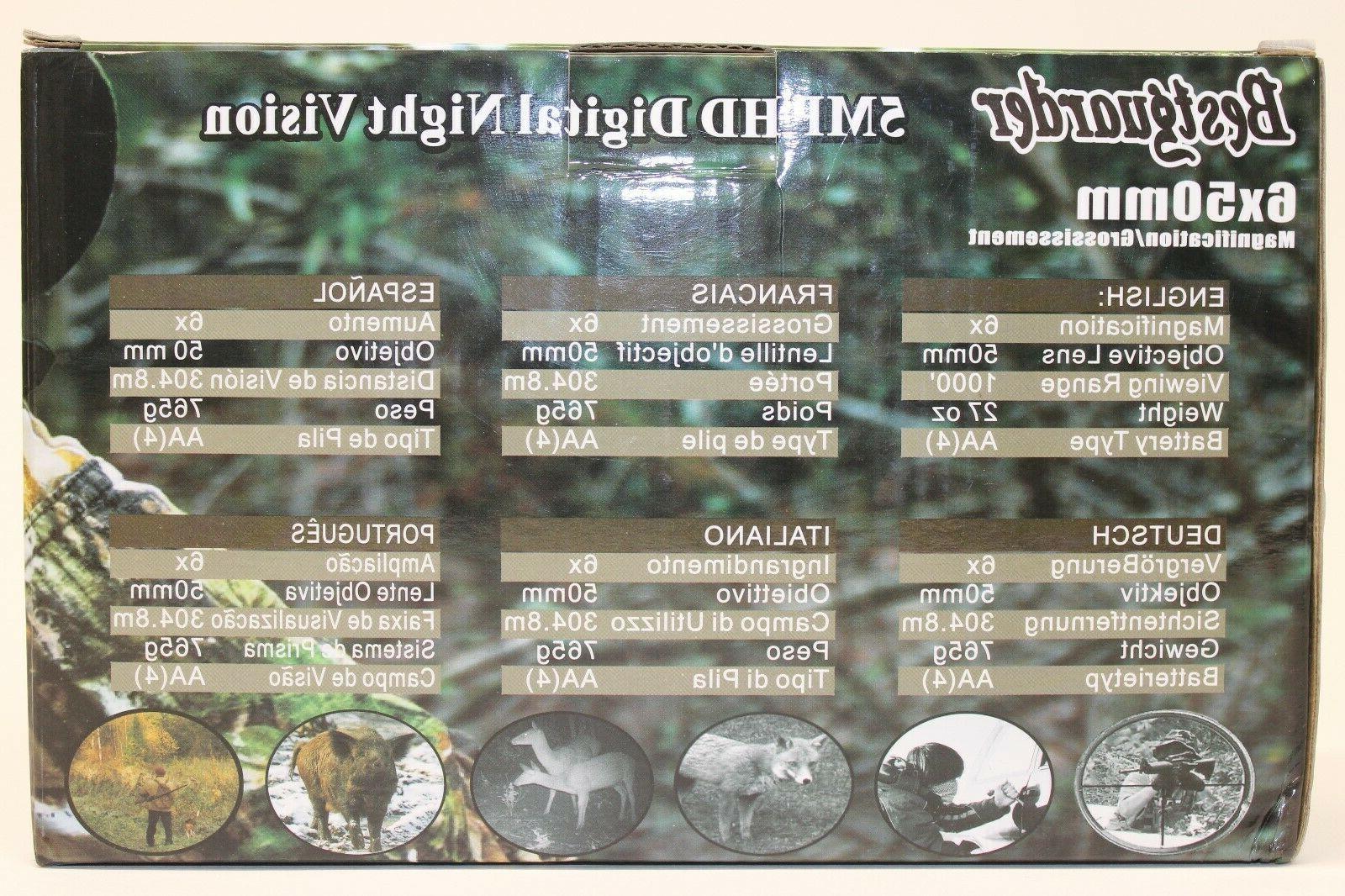 Bestguarder 5MP HD Digital Monocular