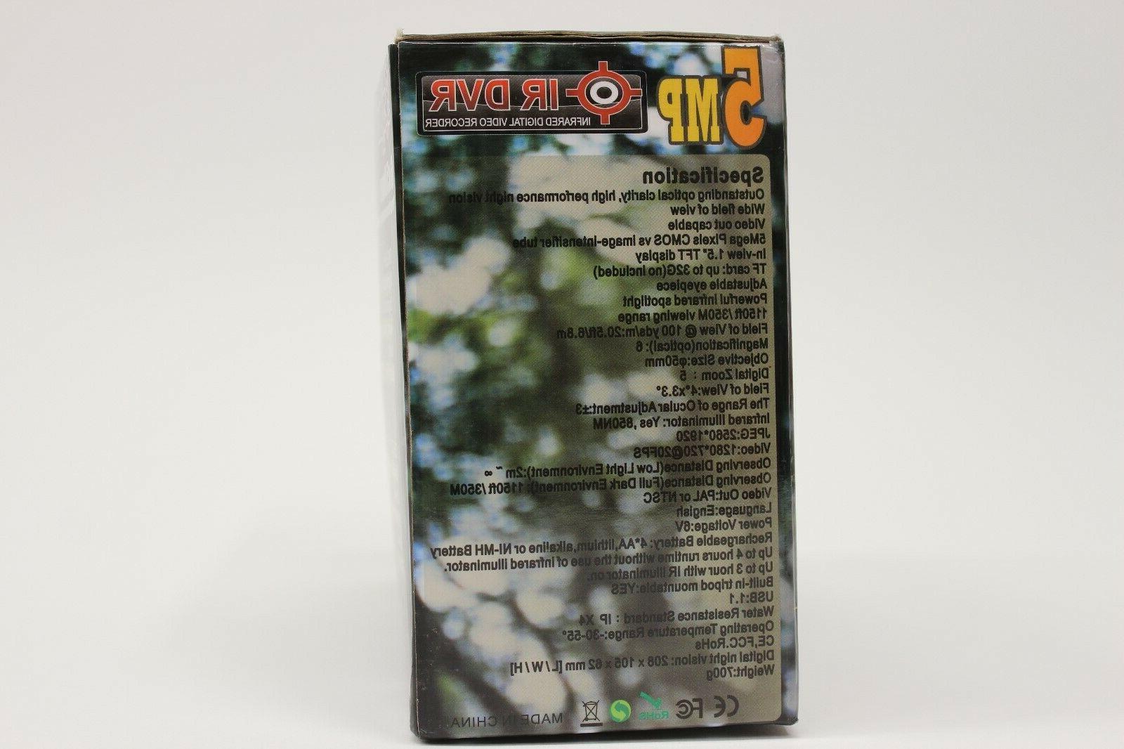 Bestguarder WG-50 6x50mm HD Digital Vision Monocular