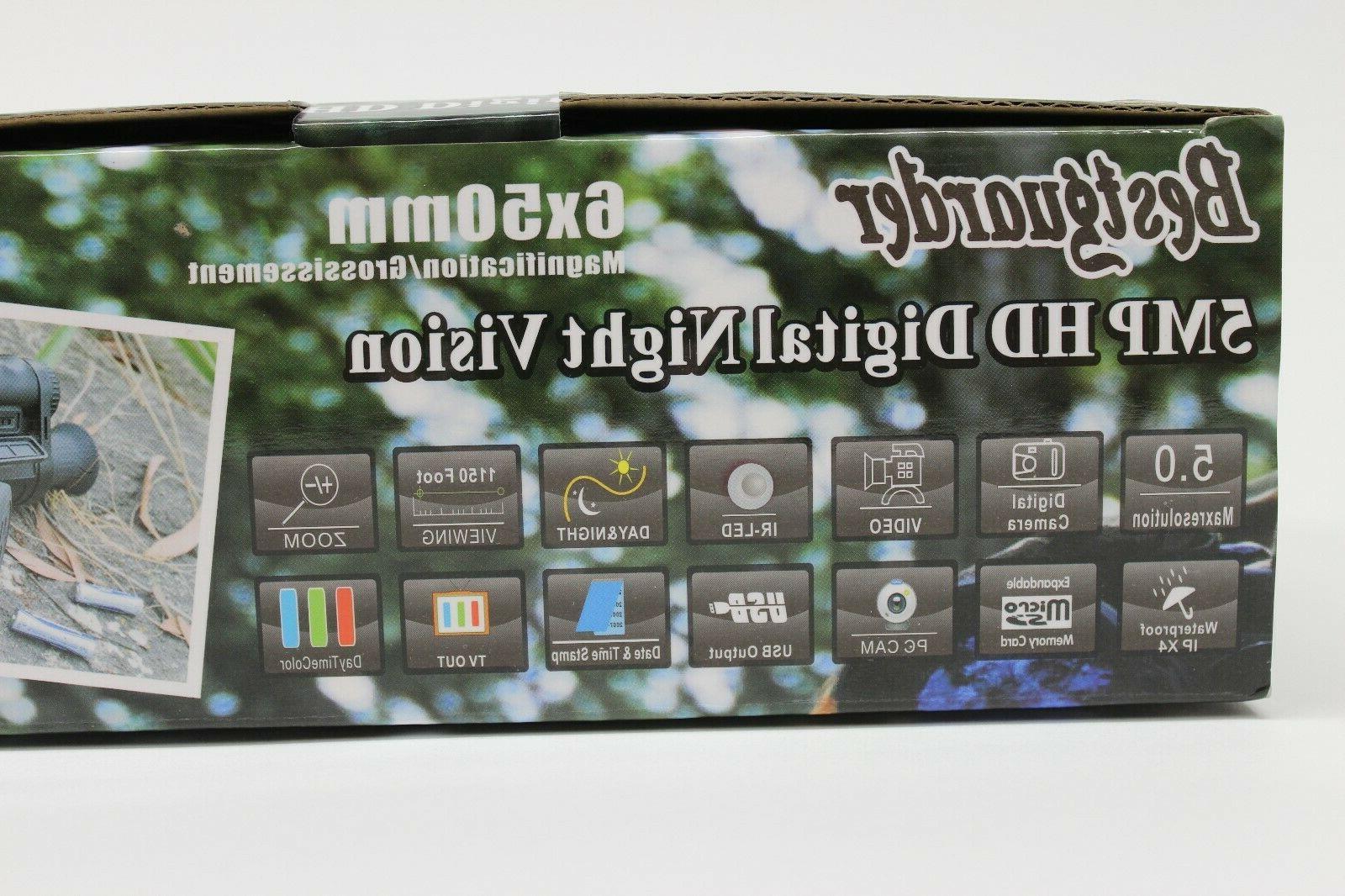 Bestguarder WG-50 HD Digital Night Monocular