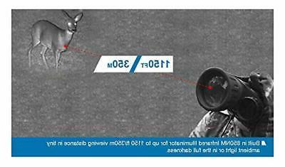 Bestguarder WG-50 Digital Night Infrared Monocular with