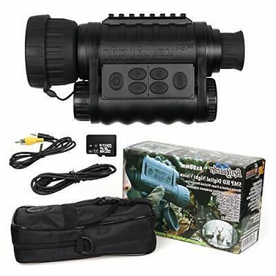 wg 50 6x50mm digital night vision infrared