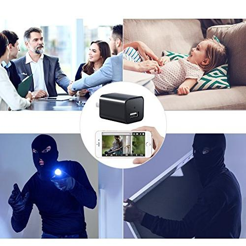 Heymoko Wi-Fi Charger Motion Detection 1080P Baby Real App View Home Security