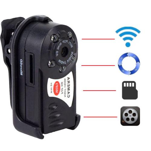 WIFI Mini DV IP Wireless Spy Cam Night Vision Camera Securit