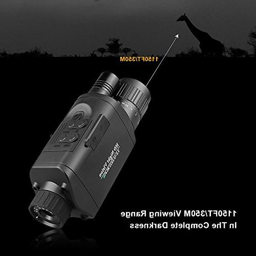 """Bestguarder Monocular WiFi, Infrared IR Camera Camcorder Viewing with 1.5"""""""