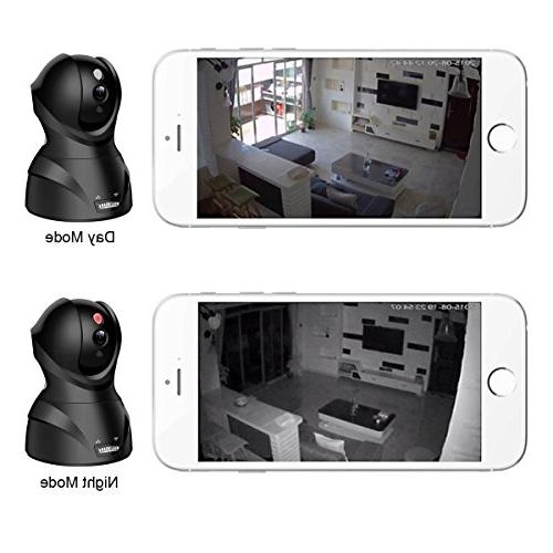 MAGENDAR HD 720P Security Home Camera Nanny Night Cloud Service