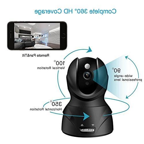 MAGENDAR HD 720P Security Camera Camera Night Storage Service