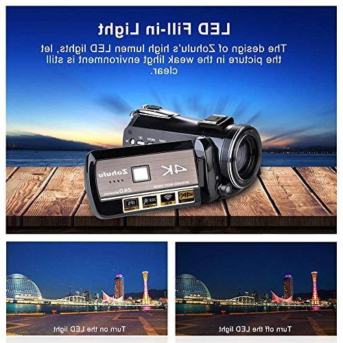 Ancter Full Spectrum Camcorders, Ultra HD Paranormal Camera, KK18