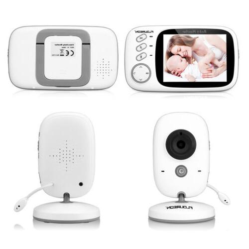 Wireless 2.4 GHz Color Baby Monitor Camera Night