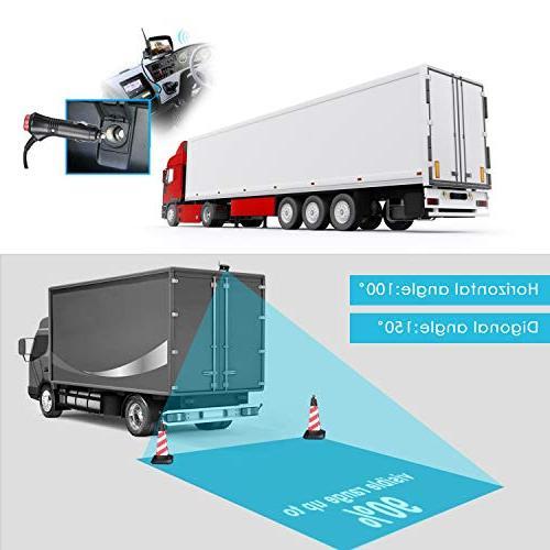 Digital Wireless kit, TOGUARD Rear View Waterproof Backup for Trucks/RV