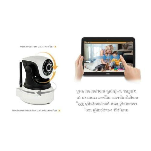 Wireless Camera Home System Monitor IR
