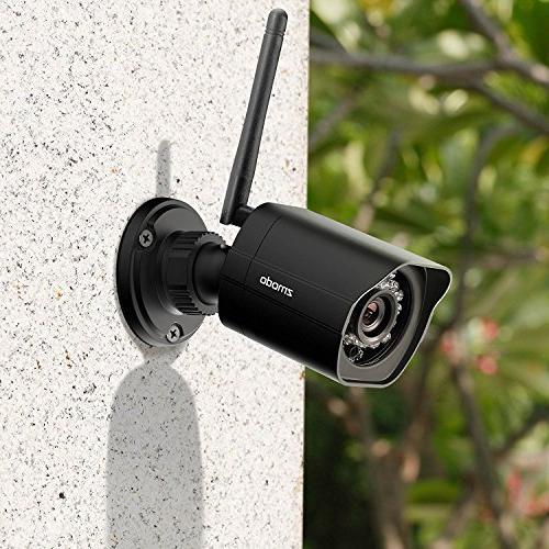 Zmodo Outdoor Security Inclusive Bundle - HD Outdoor WiFi IP Cameras with