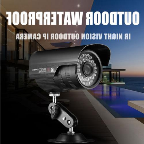 Wireless Security Camera System 8CH 1080p HDMI NVR IR-CUT Vision