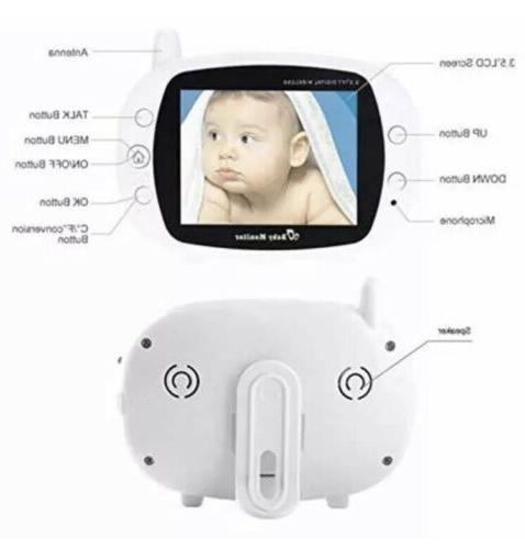 Wireless Baby with Camera, Inch Screen Tw
