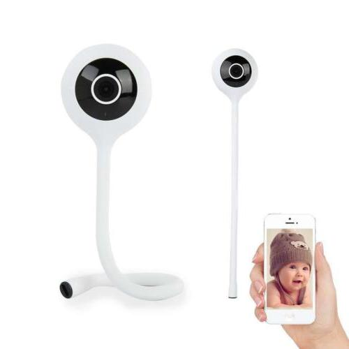 Wireless Camera Monitor 2 Way Audio IR Night Temperat