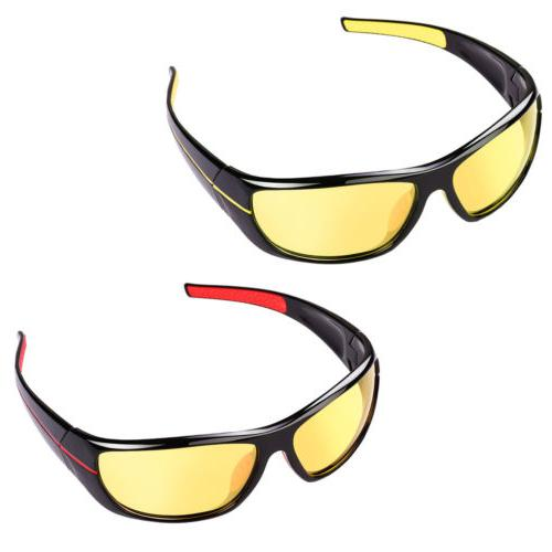 Women Night Glare Lens Eye Glasses