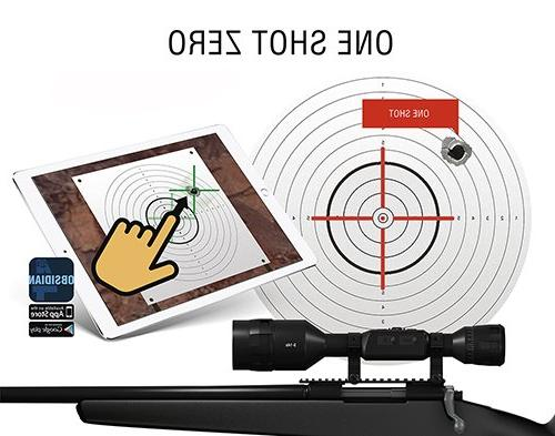 ATN X-Sight Smart Day/Night 5-20x - Ultra 4K Superb Optics, Full 18+ hrs Battery, Calculator, Apps