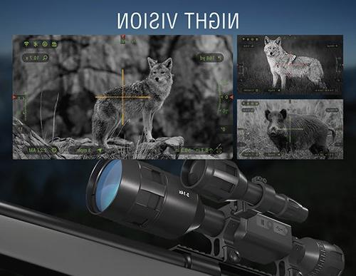 ATN Pro Smart Day/Night Scope 5-20x - Ultra 4K technology with Superb Optics, 18+ hrs Battery, Ballistic Calculator, Rangefinder, IOS&Android Apps