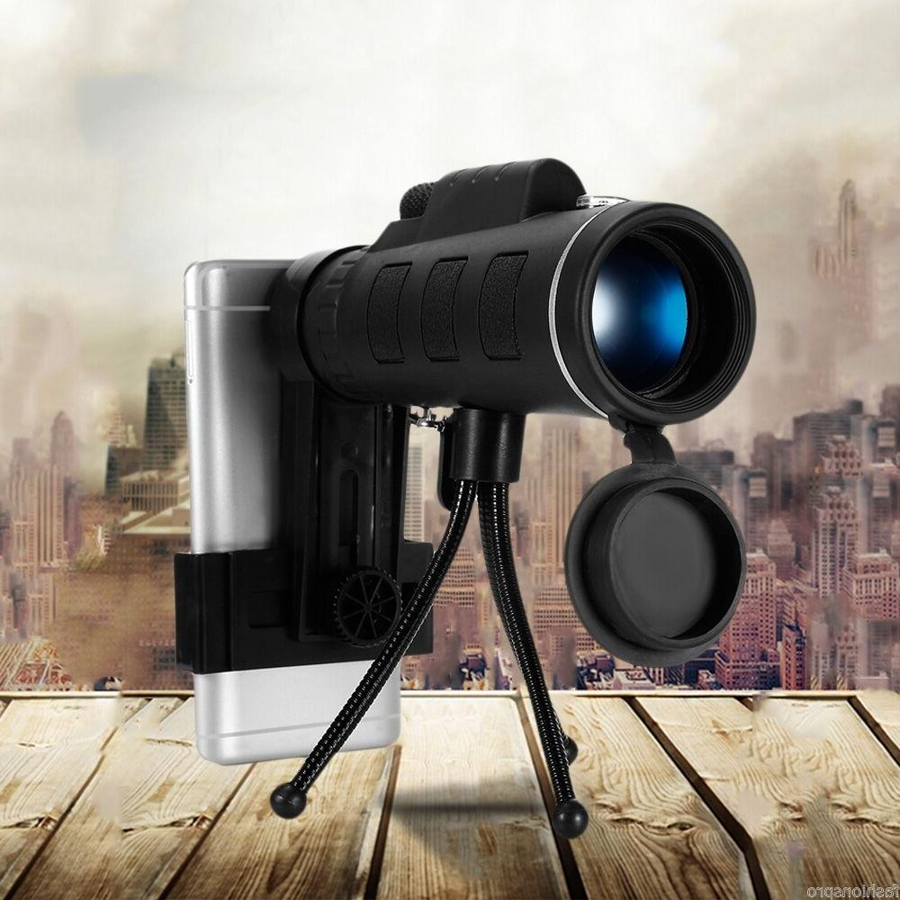 40X60 HD Lens Telescope + Tripod Clip Mobile Phone