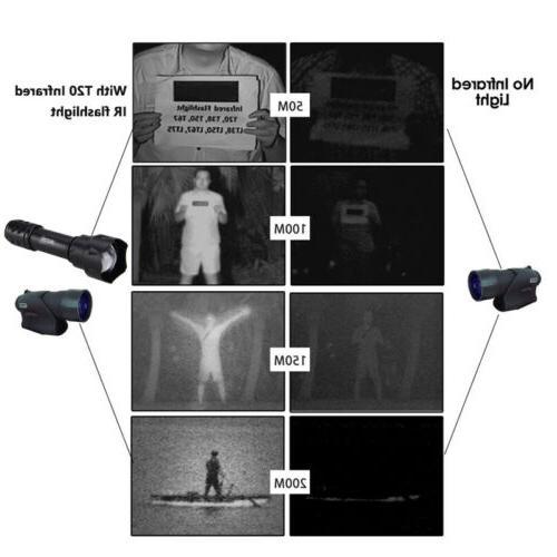 Infrared Illuminator 7W/10w Night Vision LED