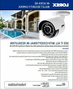 Lorex LBV8531 4k 8MP Ultra HD MPX Bullet Security Camera Col