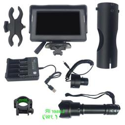 LCD Display Night Vision Scope Lens For Rifle Scope IR Torch
