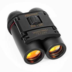 Light Night Vision 30x60 Folding Binoculars Telescope for Ou