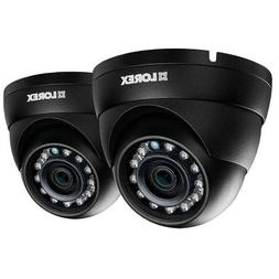Lorex LNE4422W-2PK 2-Pack 4MP IP HD Dome Camera with Color N