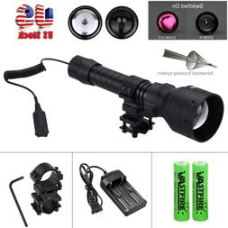 Long Range Zoom IR Infrared Illuminator Night Vision Flashli