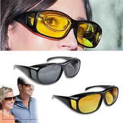 LongKeeper HD Driving Sunglasses Yellow <font><b>Lens</b></f