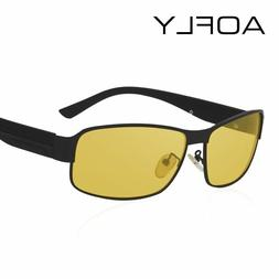 Men Night Vision Glasses Design Polarized Sunglasses Driving