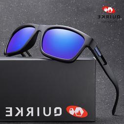 Quirke Men Polarized Sunglasses Women Vintage Driving Sun Gl