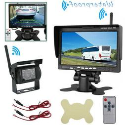 "4.3"" LCD Monitor Car Backup Reverse Camera Rear View Parking"