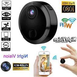 Mini 1080P Hidden Camera Wi-Fi FHD Camera Wireless Night Vis