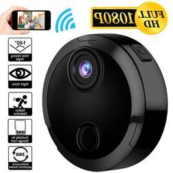 Mini 1080P Hidden Camera Wi-Fi Spy Camera Wireless Night Vis