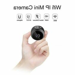 Mini Camcorder Round 1080P Night Vision WiFi Remote Control