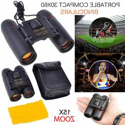 Mini Day Night Vision Binoculars 30 x 60 Zoom Outdoor Travel