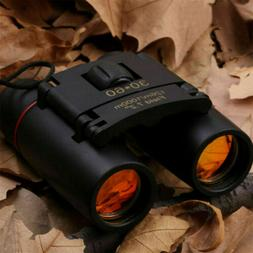 Mini Day Night Vision Binoculars 30x60Zoom Outdoor Travel Hu