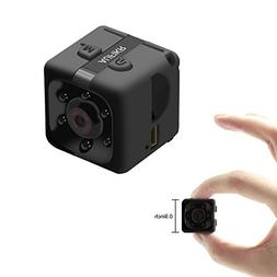 Aufikr Mini Camera Sports HD DV Camera 1080P Portable Tiny V