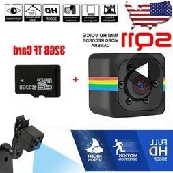 Mini HD 1080P Hidden SPY Camera Sport Detection Video Record