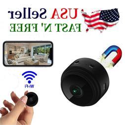 Mini HD  Hidden Wireless Wifi Spy Remote Security Cameras Ho