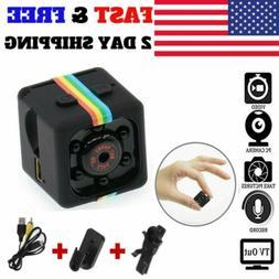 USA Mini Camera CAM COP Hidden Motion Activated Cam IR Night