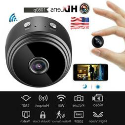 Mini WiFi 1080P Hidden Security Camera Motion Detection Wire
