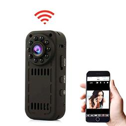MAGENDARA Mini WIFI Camera, Mini Wireless Camera 1080P Camer