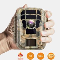 Campark Mini Wildlife Camera 16MP 1080P Game Scouting Huntin