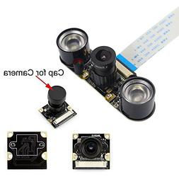 Longruner Camera Module for Raspberry PI 5MP 1080p OV5647 Se