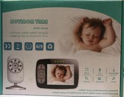 """Baby Monitor, Video Baby Monitor 3.5"""" Large LCD Screen, Baby"""